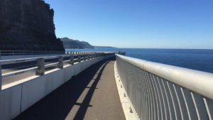 Seacliff Bridge walk