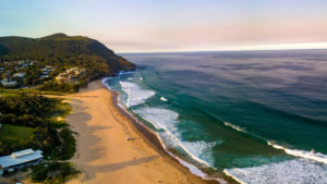 Stanwell Park beach, just minutes from Otford Cottage